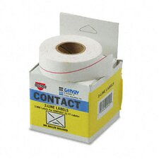 Garvey Two-Line Pricemarker Labels, 1000/Roll, 3 Rolls/Box