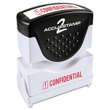 """Confidential"" Shutter Stamp"