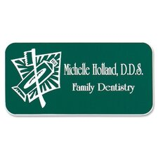 Custom Design Plastic Name Badge