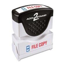 """""""Filecopy"""" Shutter Stamp"""