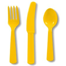 Heavy Duty Plastic Cutlery (24 Count)