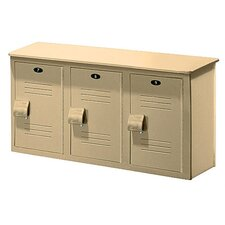 Lenox Locker Bench - 3 Ft