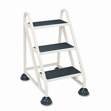 Cramer Stop-Step Aluminum Ladder 3-Step Step Stool