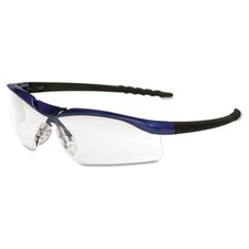 Dallas Wraparound Safety Glasses, Clear Antifog Lens