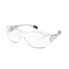 <strong>Crews®</strong> Law Over The Glasses Safety Glasses, Clear Anti-Fog Lens