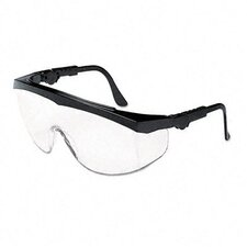 Tomahawk Wraparound Safety Glasses, Clear Lens