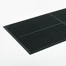 Safewalk-Light Heavy-Duty Anti-Fatigue Mat, Rubber, 36 X 60