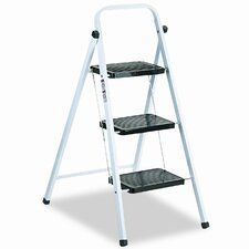 <strong>DAVIDSON LADDER, INC.</strong> Louisville Qs3 Quick Step Steel Three-Step Folding Stool