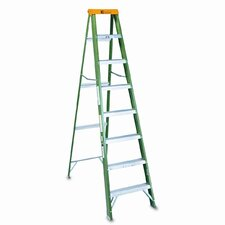 8' Louisville #592 Folding Step Ladder