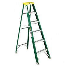 Louisville #592 Six-Foot Folding Fiberglass Step Ladder