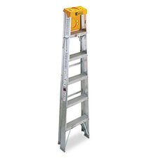 Louisville #428 Six-Foot Folding Aluminum Step Ladder