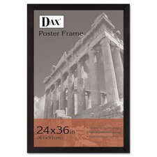 <strong>DAX®</strong> Black Wood Poster Frame with Plexiglas Window, Wide Profile, 24 x 36