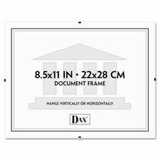 "Document Clip Frame, 8.5"" x 11"""