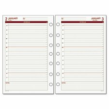 Express Daily Planning Pages Refill, Hourly Appointments, 5-1/2 x 8-1/2, 2014