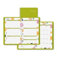 "Bubble Design Weekly/monthly Planner, 12 Mos, 5-1/2""x8-1/2"", Bubbles/LE, 2013"