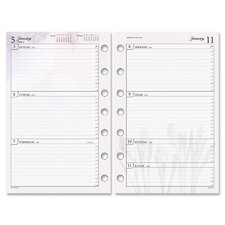 Express Nature Weekly Planning Refill Pages