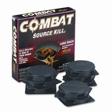 Combat Source Kill Large Roach Killing System 8/Box