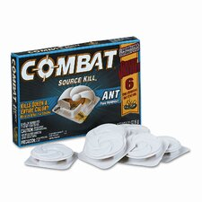 <strong>Dial® Complete®</strong> Combat Combat Ant Killing System, Child-Resistant, Kills Queen and Colony, 6/Box