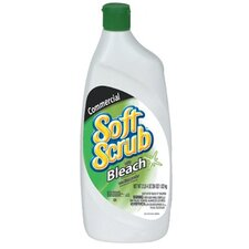 Dial - Soft Scrub Liquid Cleansers W/Bleach Disinfectant Soft Scrub W/Bleach 24Oz: 234-01602 - soft scrub w/bleach 24oz