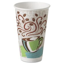 Hot Cups, Paper, Coffee Dreams Design (Pack of 50)