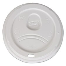 Sip-Through Dome Hot Drink Lid (Pack of 100) (Set of 10)