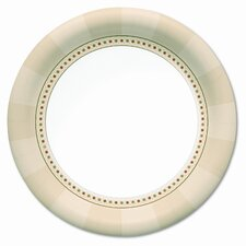Ultra Pathways Heavyweight Paper Plates, Wisesize, 500/Carton