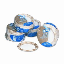 Pathways Mediumweight Paper Plates, Wisesize, 500/Carton