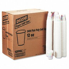 (2400 per Carton) 12 oz Cold Drink Cup in Sage