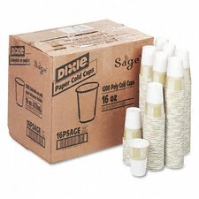 Pathways Polycoated Paper Cold Cups, 16 Oz, 1200/Carton