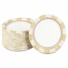 Pathways Mediumweight Paper Plates,Wisesize, 125 Per Pack