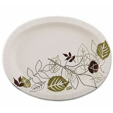 <strong>Dixie</strong> Ultra Pathways Heavyweight Oval Platters, 500/Carton