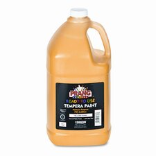 Ready-to-Use Tempera Paint, Yellow, One Gallon