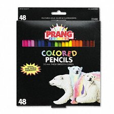 Prang Colored Woodcase Pencils (Set of 50)