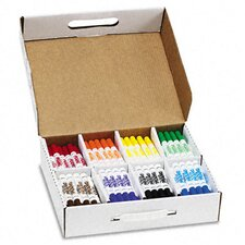 Washable Markers, Eight Assorted Colors, 200/box