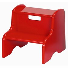 <strong>Little Colorado</strong> Kid's Step Stool in Red