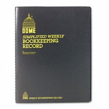 Dome Bookkeeping Record, 128 Pages