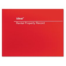 Ideal Rental Property Record Book, 60-Page Wirebound Book