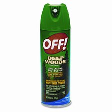 Deep Woods Off!, 6-oz. Aerosol Can, 1 EA