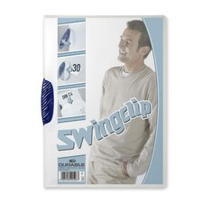 Report Cover,w/Swingclip,30 Sheet Cap.,Letter,25/BX,Dark BE