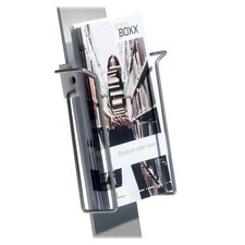 "Duo Sign Stand, Literature Dispenser, 9'x1-3/8""x8-3/4"", SR"