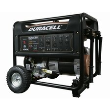 Duracell Powered Portable 7,800 Watt Gasoline Generator with Recoil Start