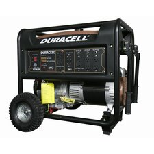 Duracell Powered Portable 8,000 Watt Gasoline Generator with Recoil Start