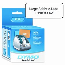 Address Labels, 1-2/5 X 3-1/2, 520/Box