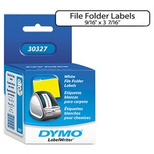 <strong>Dymo Corporation</strong> 1-Up File Folder Labels, 260/Box