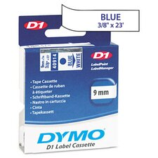 "<strong>Dymo Corporation</strong> D1 Standard Tape Cartridge for Label Makers, 0.37"" x 23'"