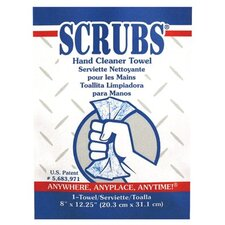 SCRUBS® Hand Cleaner Towels - scrubs hand cleaner towel 1/packet