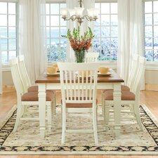 Cafe Xpress Farmhouse Leg Dining Table