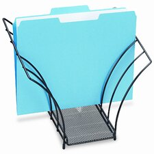 Rolodex Butterfly File Sorter, 5 Sections, Mesh
