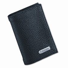 Low Profile Personal Card Case, 36-Card Capacity, 2 3/4 x 4, Black