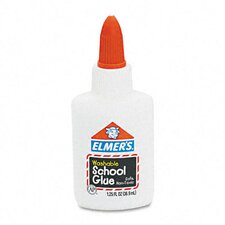 Washable School Glue Liquid, 1.25 Oz